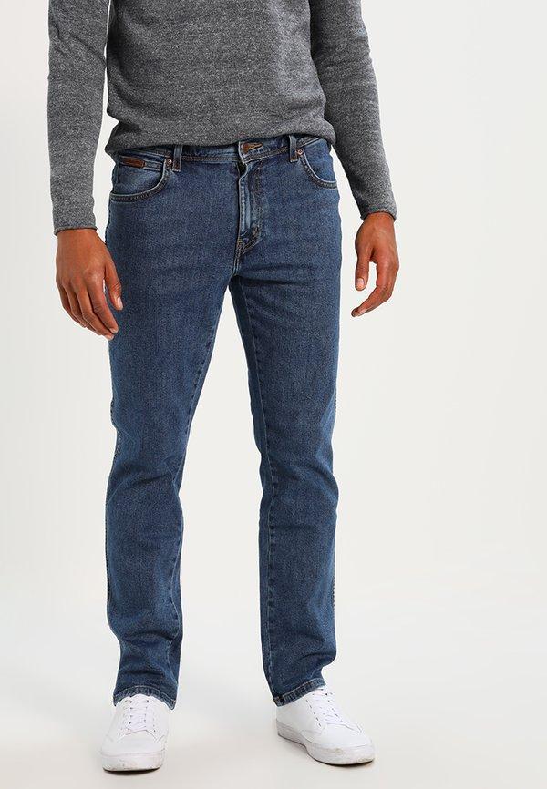 Wrangler TEXAS STRETCH - Jeansy Straight Leg - stonewash/niebieski Odzież Męska XFZU