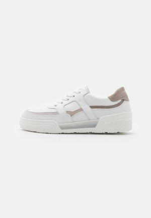 Sneakers laag - weiß/bianco