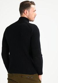 Schott - YANK - Sweter - black - 2