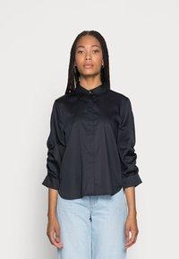 Opus - FAUSI - Button-down blouse - mystic blue - 0