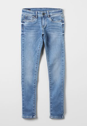 PIXLETTE - Vaqueros pitillo - light-blue denim