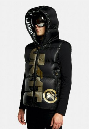 PRIME SLICK - Bodywarmer - black/gold
