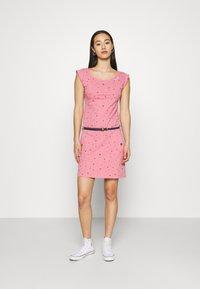 Ragwear - TAG - Žerzejové šaty - pink - 0
