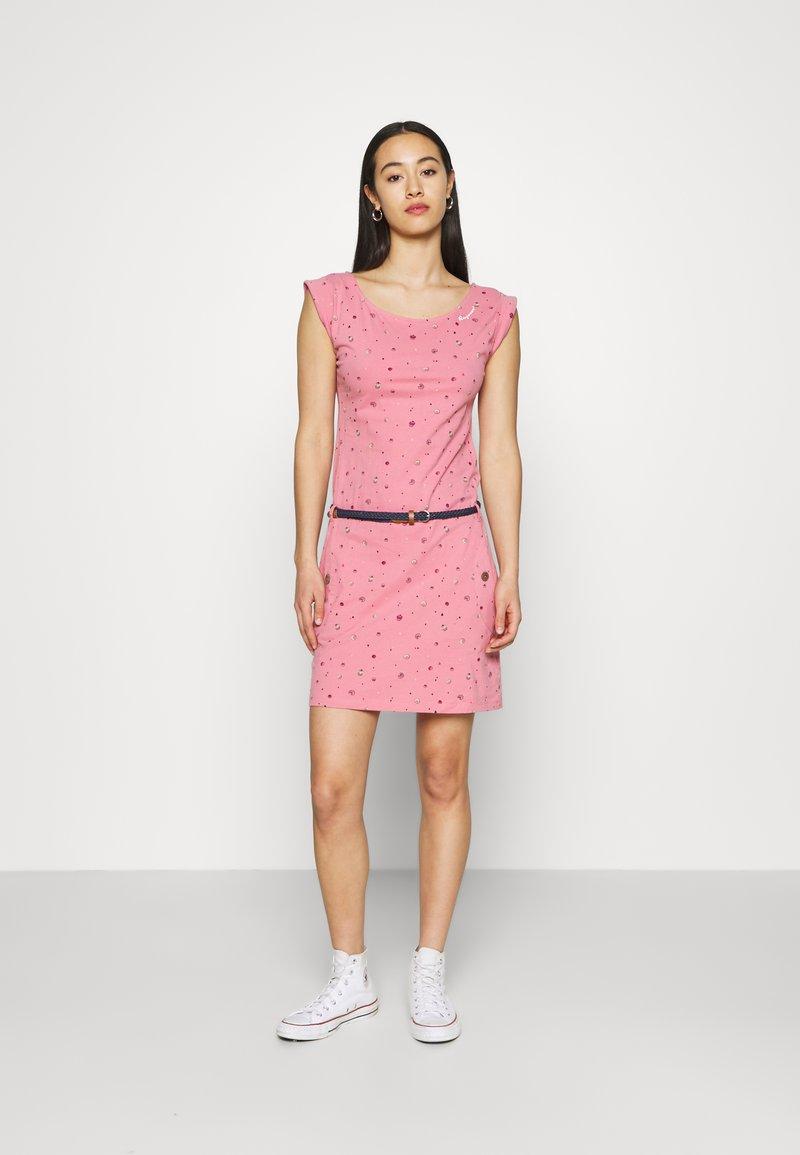 Ragwear - TAG - Žerzejové šaty - pink