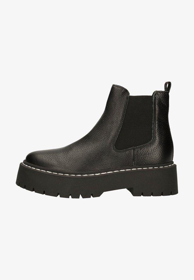 Støvletter - black leather