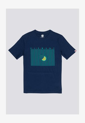 Odom  - T-shirt print - blue depths