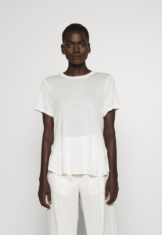 KATKA JANITA TEE - T-shirt basique - snow white