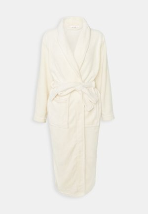 SOFT TOUCH DRESSING GOWN - Dressing gown - cream