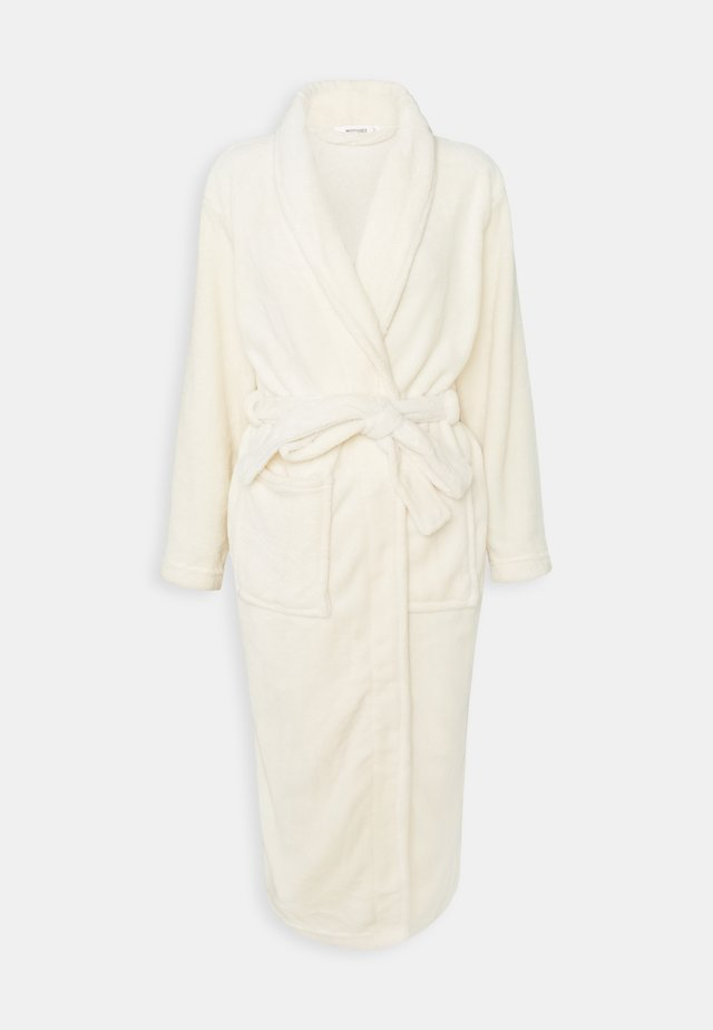 SOFT TOUCH DRESSING GOWN - Peignoir - cream