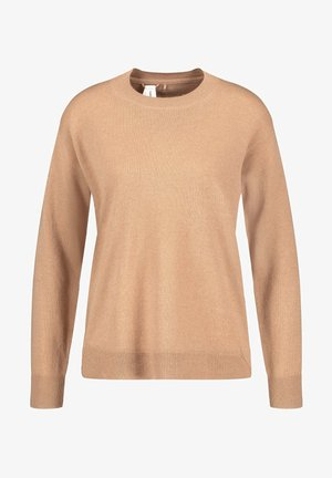 Sweatshirt - camel melange