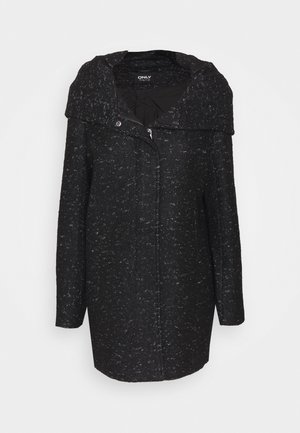 ONLNEWSEDONA COAT - Short coat - black melange