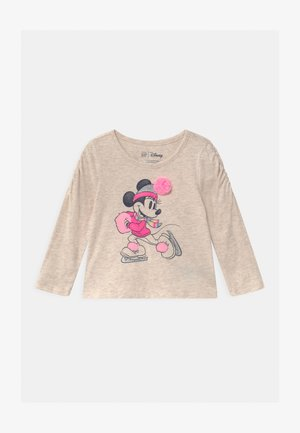 TODDLER GIRL MINNIE MOUSE - Longsleeve - mottled beige