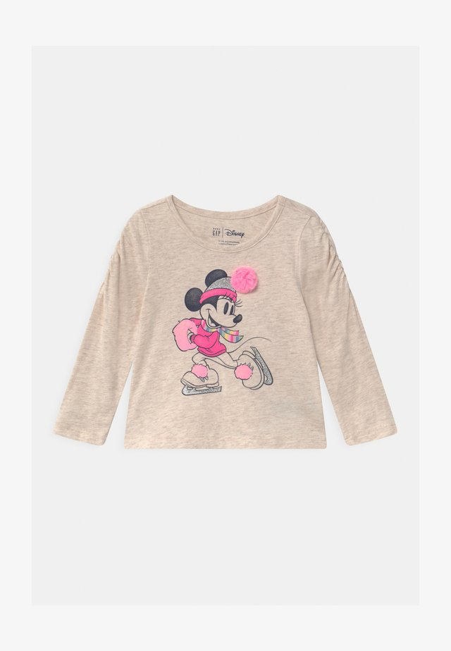 TODDLER GIRL MINNIE MOUSE - T-shirt à manches longues - mottled beige