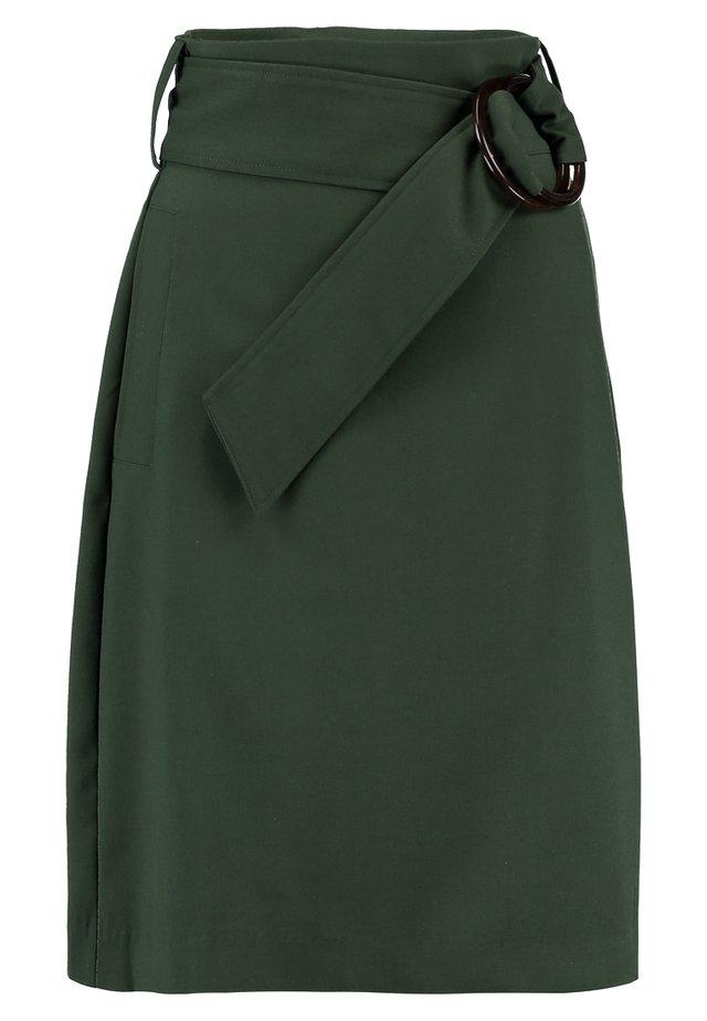 Pencil skirt - kombu green