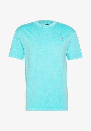 SUNFADED WASH TEE - Camiseta básica - blue