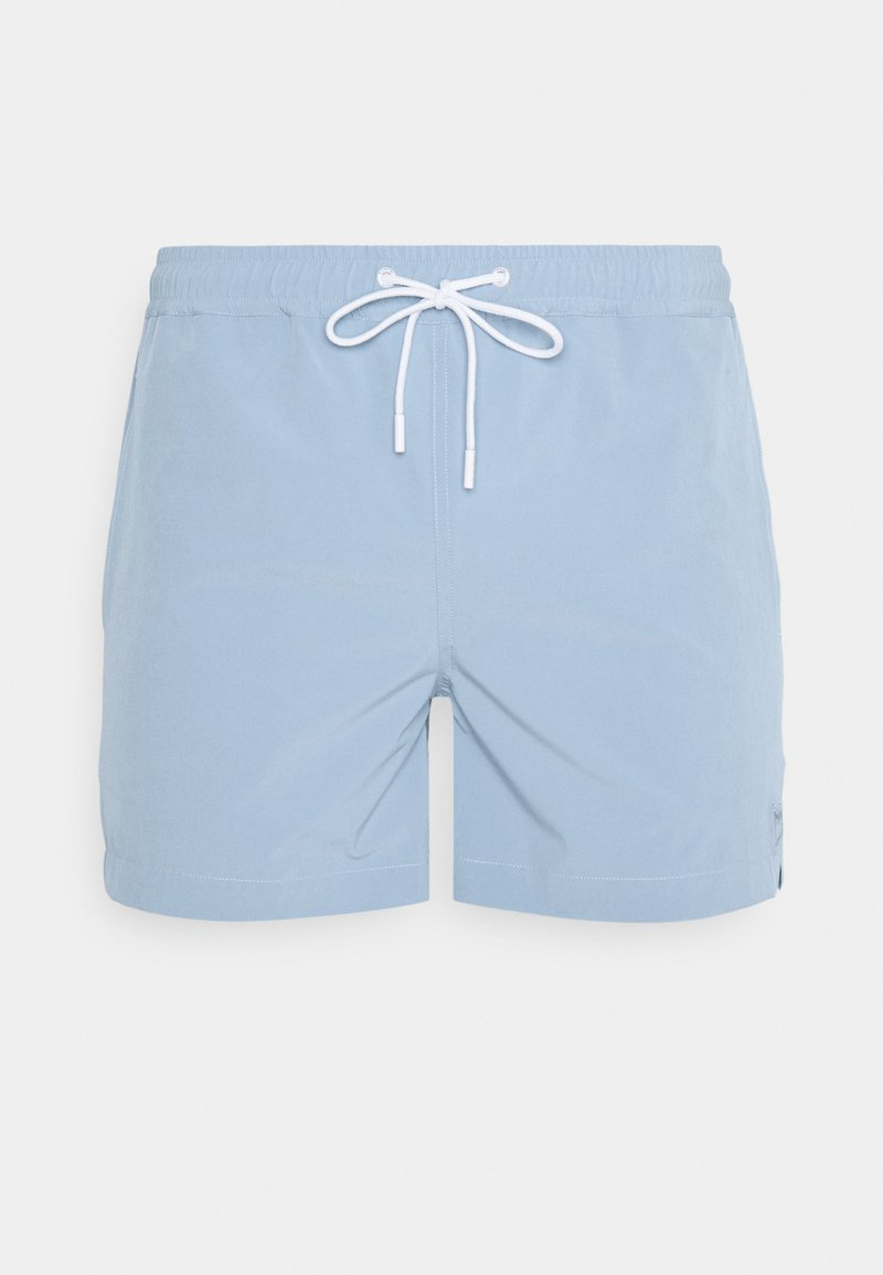 KnowledgeCotton Apparel - BAY - Swimming shorts - asley blue