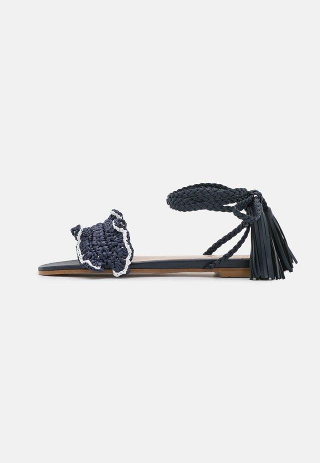 Sandals - blu/bianco/ocean