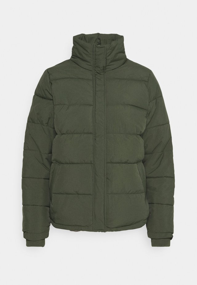 THE MOTHER PUFFER - Winter jacket - khaki