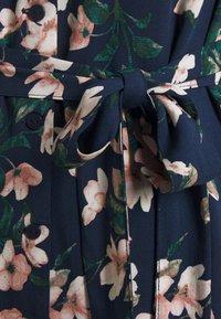 Vero Moda Petite - VMSIMPLY EASY CALF SHIRTDRESS - Maxi dress - navy blazer/imma - 2