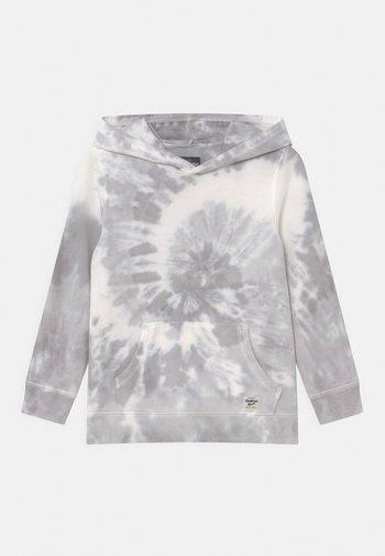 TIE DYE HOODIE - Sweatshirt - white