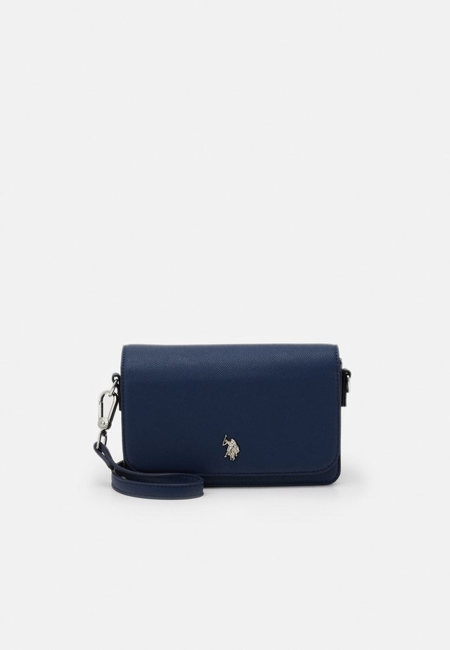 JONES FLAP BAG - Sac bandoulière - navy