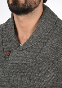 Solid - PHIL - Jumper - dark grey - 3