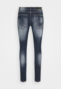 Alessandro Zavetti - CHEILLINI SUPER SLIM - Slim fit jeans - indigo - 7