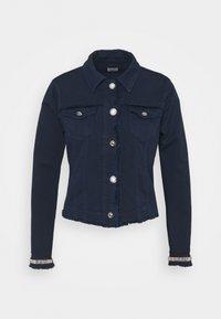 Liu Jo Jeans - GIUBBINO DRILL - Denim jacket - night - 0