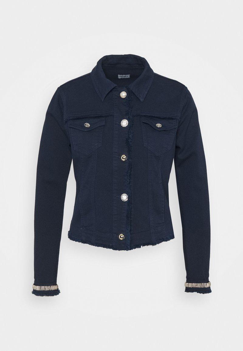 Liu Jo Jeans - GIUBBINO DRILL - Denim jacket - night