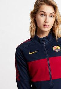 Nike Performance - FC BARCELONA - Training jacket - obsidian/noble red/university gold - 3