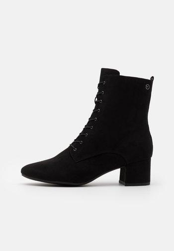 BOOTS - Snørestøvletter - black