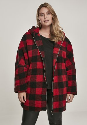 Short coat - red/black