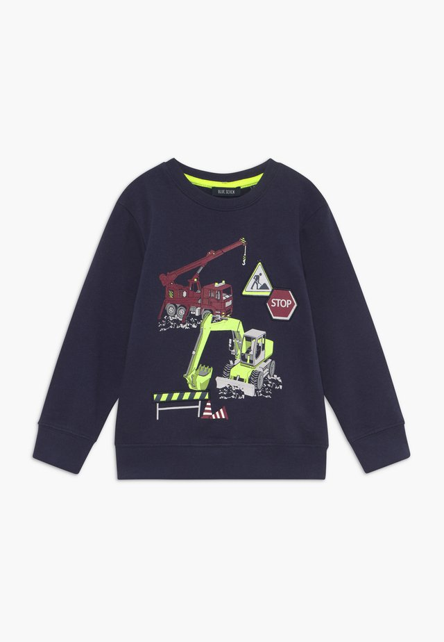 KIDS DIGGER TRUCK  - Sweatshirt - dark blue