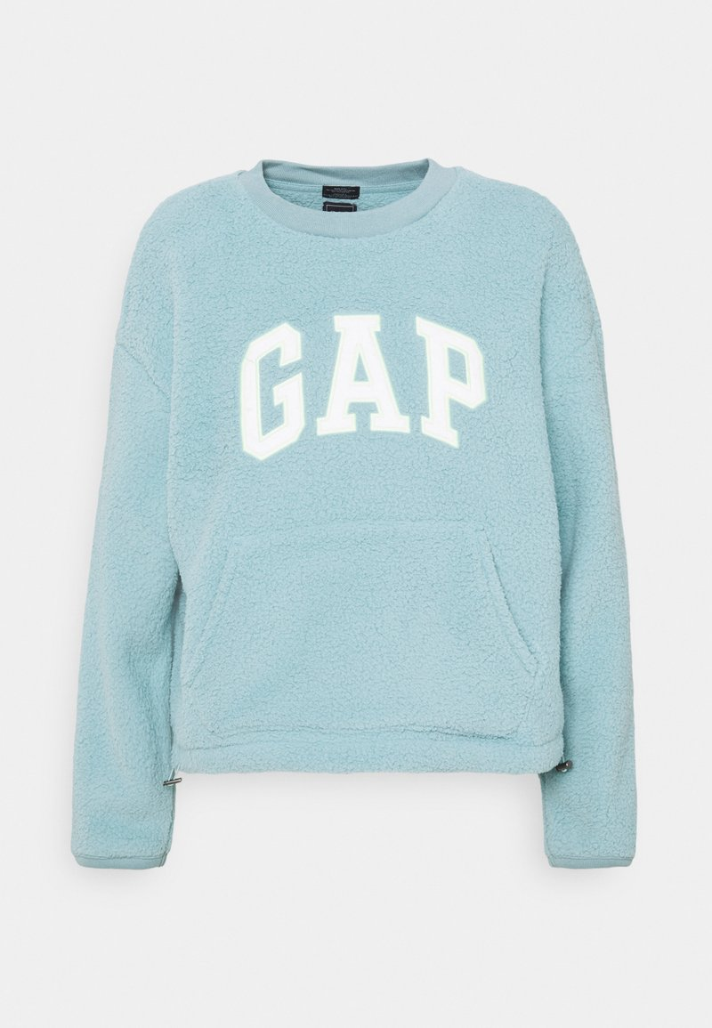 GAP - SHERPA - Fleece jumper - island blue