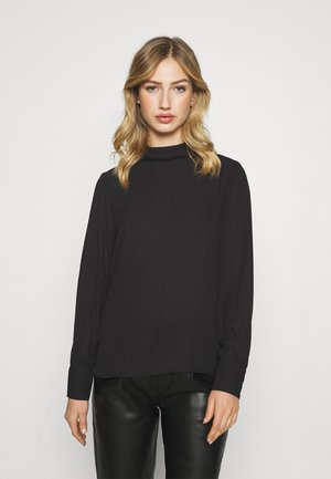 ONLGRORGINA HIGH NECK - Blouse - black