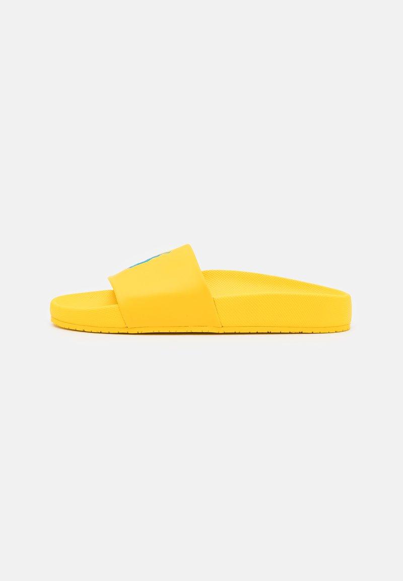 Polo Ralph Lauren - CAYSON UNISEX - Matalakantaiset pistokkaat - yellow fin