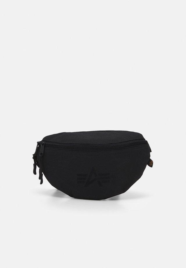 WAIST BAG - Ledvinka - black