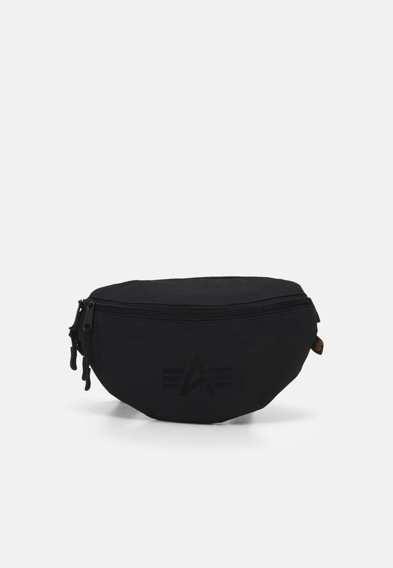 Alpha Industries - WAIST BAG - Bum bag - black