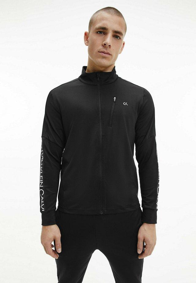 Sweater met rits - ck black