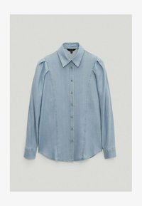 Massimo Dutti - Button-down blouse - light blue - 0
