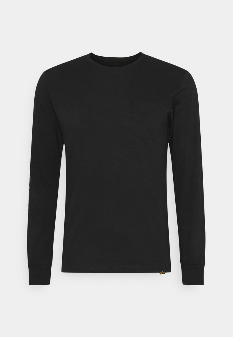 Alpha Industries - Long sleeved top - black