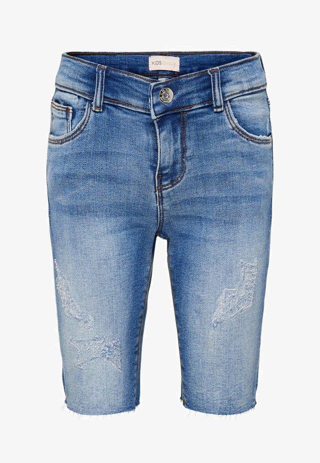 Short en jean - medium blue denim