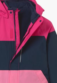 Name it - NKFSNOW03 JACKET BLOCK - Winter jacket - fuchsia - 4