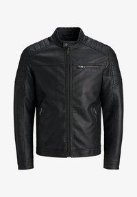 Produkt - Faux leather jacket - black - 0