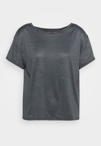 TECH VENT - T-shirt basic - black
