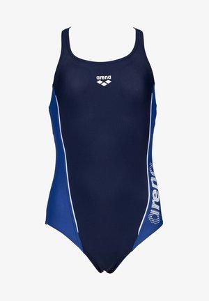 Swimsuit - navy royal white