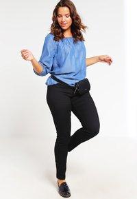 Zizzi - NILLE - Slim fit jeans - black - 1