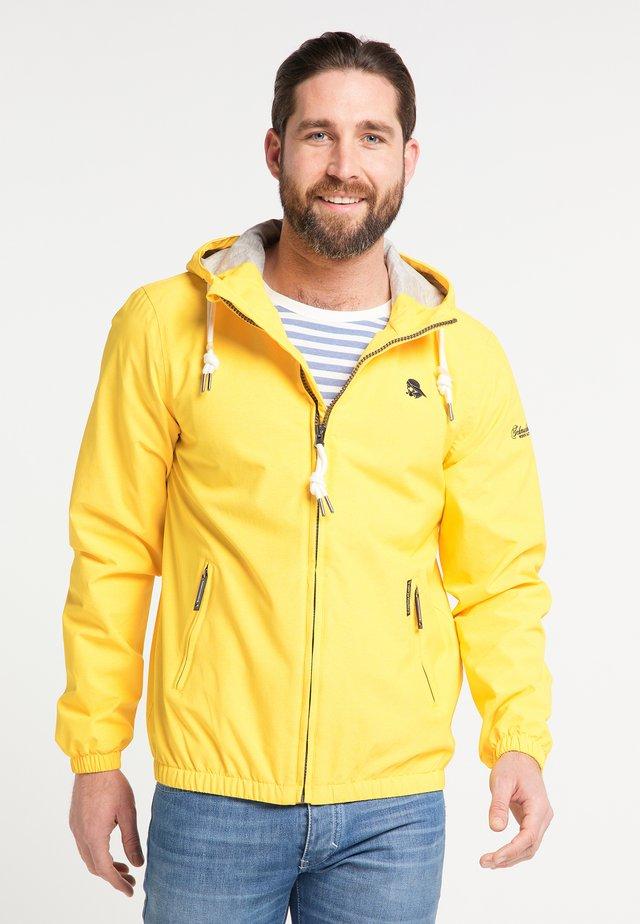 Kurtka Outdoor - yellow melange