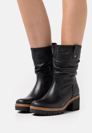PIERA  - Platform boots - black