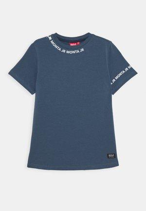 TARAZ - T-shirts print - steel blue